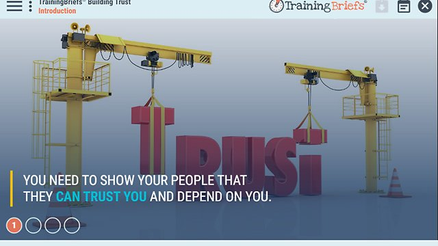 TrainingBriefs® Building Trust