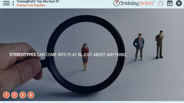 TrainingBriefs® Can She Hack It?