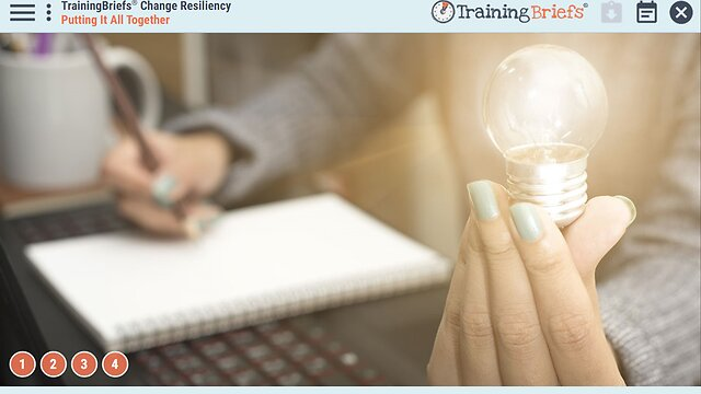 TrainingBriefs® Change Resiliency