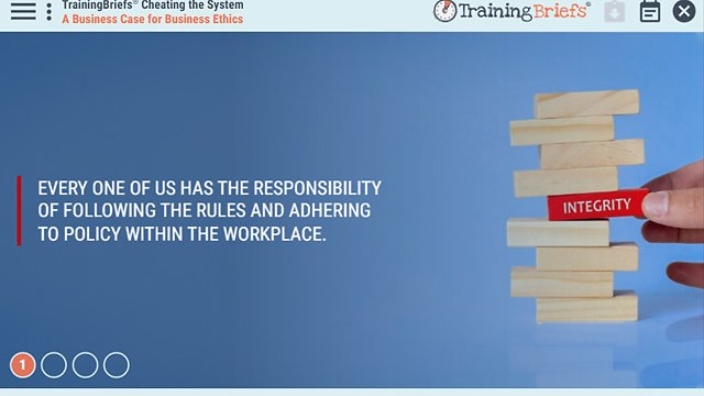 TrainingBriefs® Cheating the System