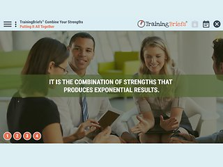 TrainingBriefs® Combine Your Strengths
