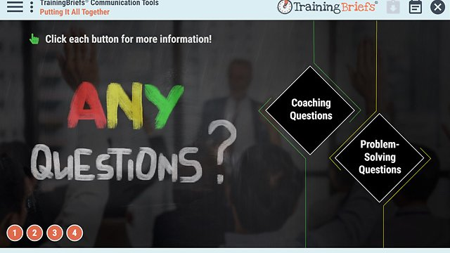 TrainingBriefs® Communication Tools