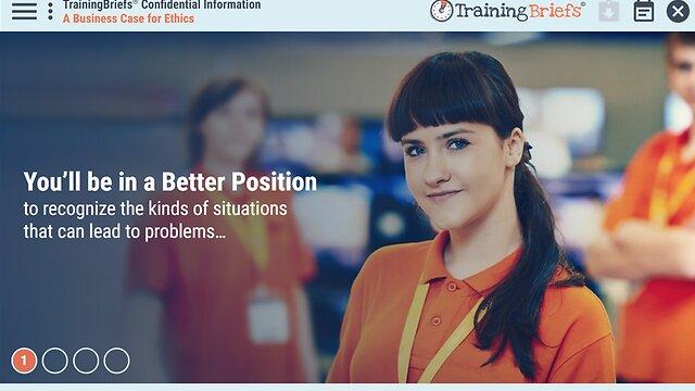 TrainingBriefs® Confidential Information