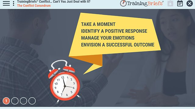 TrainingBriefs® Conflict… Can't You Just Deal with It?