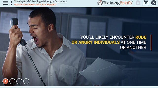 TrainingBriefs® Dealing with Angry Customers