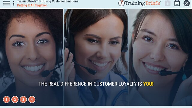 TrainingBriefs™ Diffusing Customer Emotions