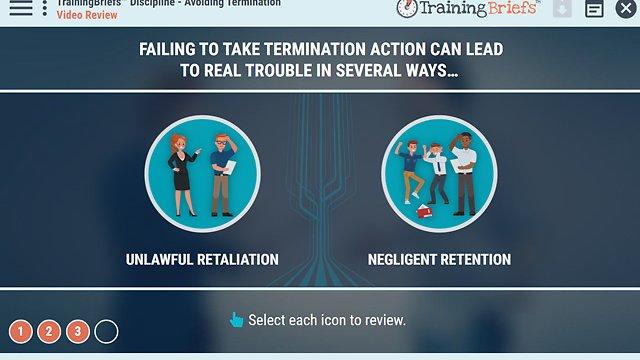 TrainingBriefs™ Discipline - Avoiding Termination