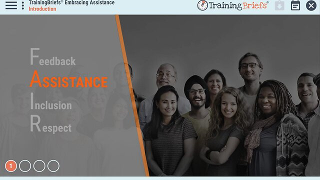 TrainingBriefs® Embracing Assistance