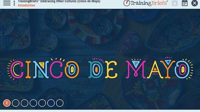 TrainingBriefs® Embracing Other Cultures (Cinco de Mayo)