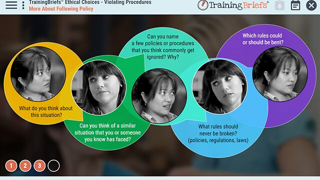 TrainingBriefs® Ethical Choices – Violating Procedures