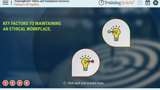 TrainingBriefs® Ethics and Compliance Concerns