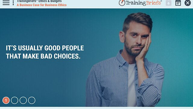 TrainingBriefs® Ethics & Budgets
