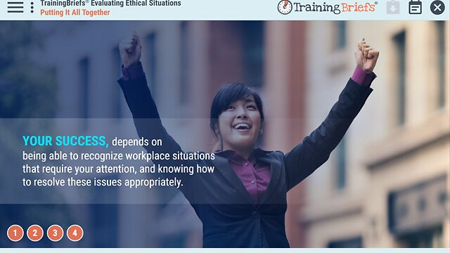 TrainingBriefs® Evaluating Ethical Situations