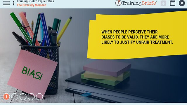 TrainingBriefs® Explicit Bias