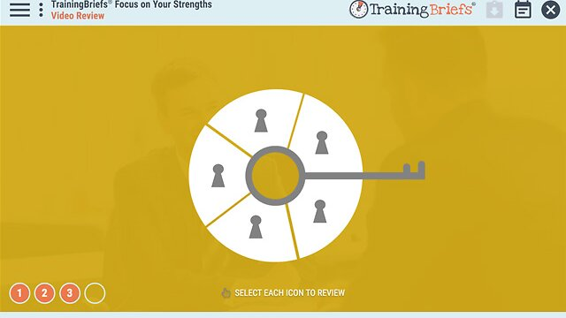 TrainingBriefs® Focus on Your Strengths