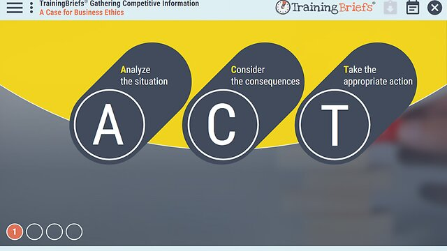 TrainingBriefs® Gathering Competitive Information