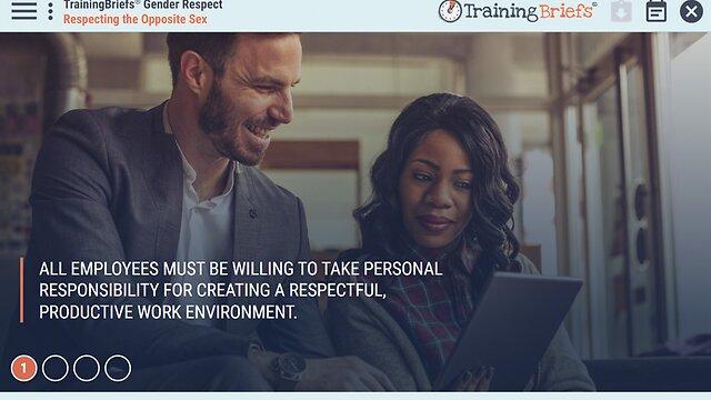 TrainingBriefs™ Gender Respect