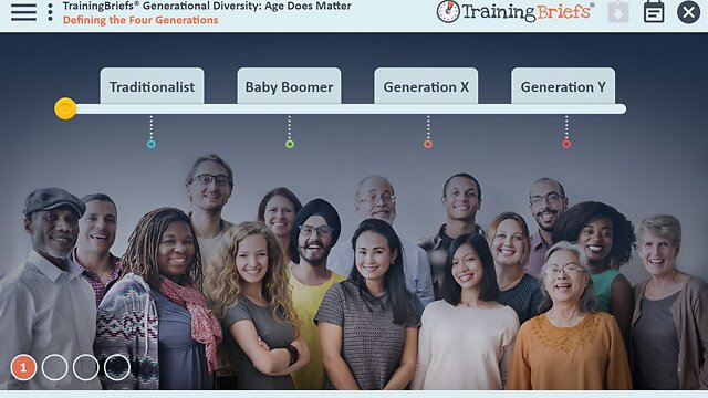 TrainingBriefs® Generational Diversity: Age Does Matter