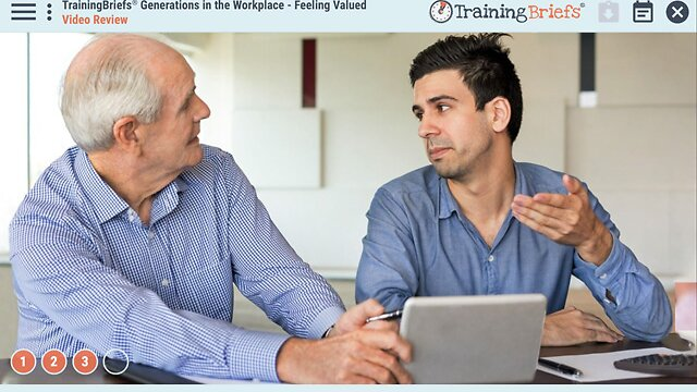 TrainingBriefs® Generations in the Workplace - Feeling Valued