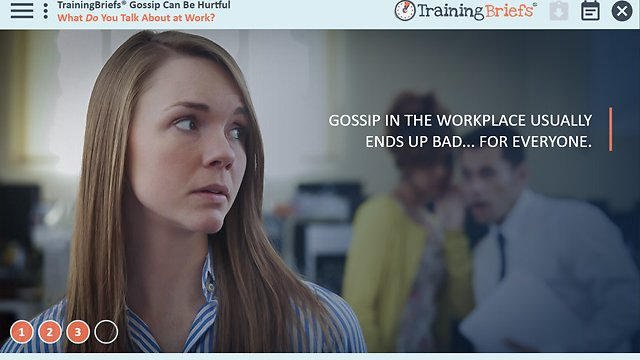 TrainingBriefs® Gossip Can Be Hurtful