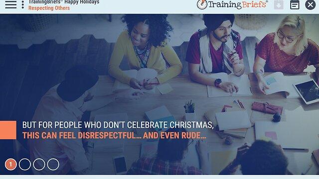 TrainingBriefs® Happy Holidays