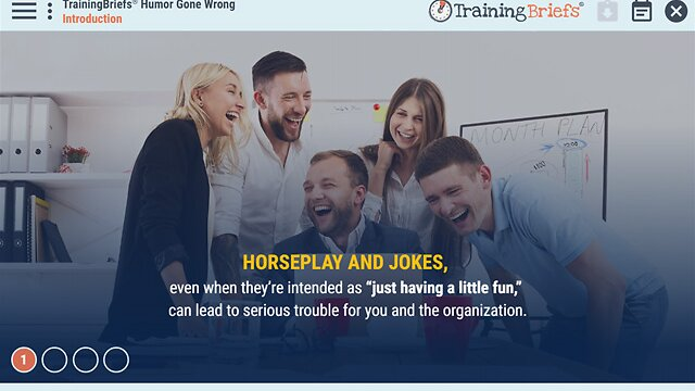TrainingBriefs® Humor Gone Wrong