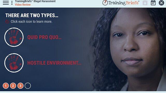 TrainingBriefs™ Illegal Harassment