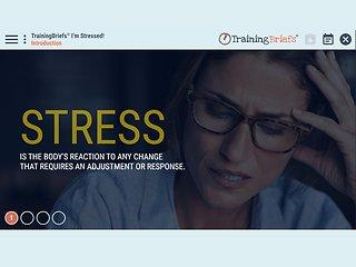 TrainingBriefs® I'm Stressed!