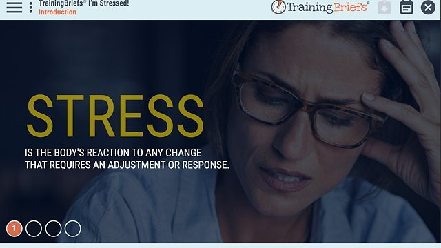 TrainingBriefs® I'm Stressed!