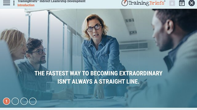 TrainingBriefs® Indirect Leadership Development