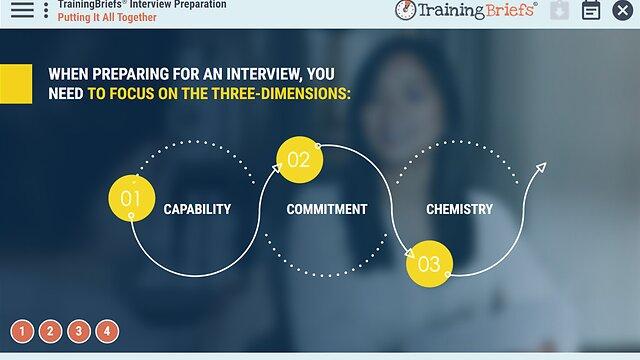 TrainingBriefs®  Interview Preparation