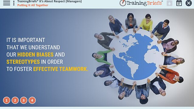 TrainingBriefs™ It's About Respect (Managers)