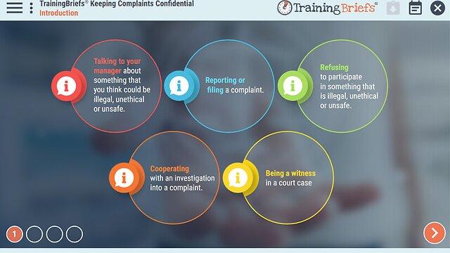 TrainingBriefs® Keeping Complaints Confidential