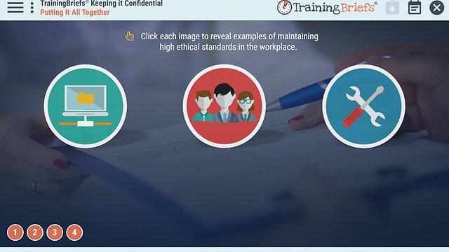 TrainingBriefs® Keeping It Confidential