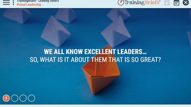 TrainingBriefs™ Leading Others