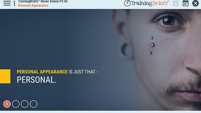 TrainingBriefs® Never Gonna Fit In!