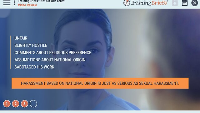 TrainingBriefs® Not On Our Team!