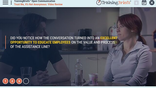 TrainingBriefs® Open Communication
