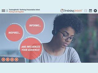 TrainingBriefs® Outlining Presentation Intent