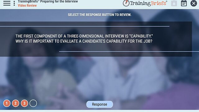 TrainingBriefs® Preparing for the Interview