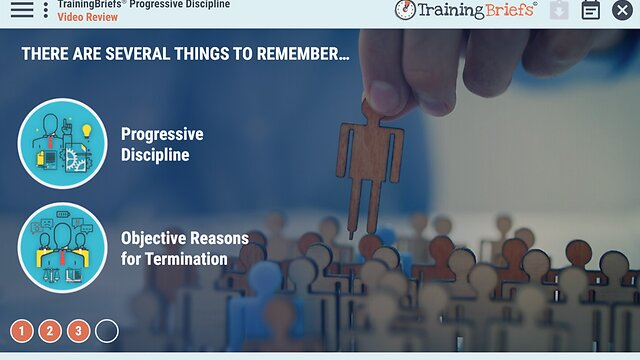 TrainingBriefs® Progressive Discipline