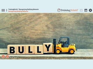 TrainingBriefs® Recognizing Bullying Behavior