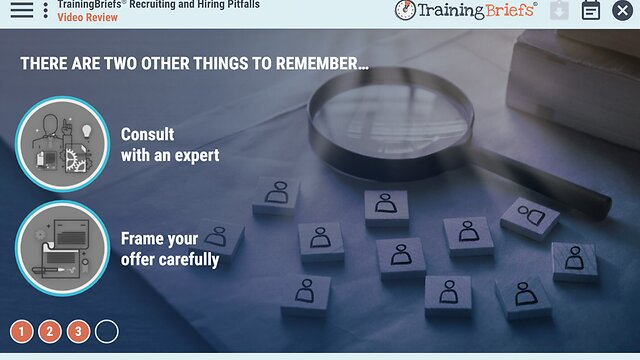 TrainingBriefs® Recruiting and Hiring (Legally)