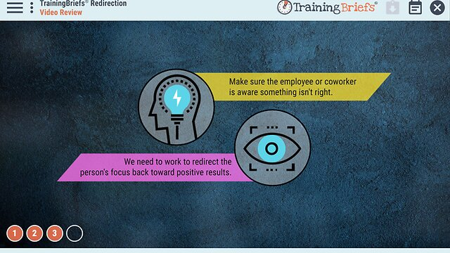 TrainingBriefs™ Redirection
