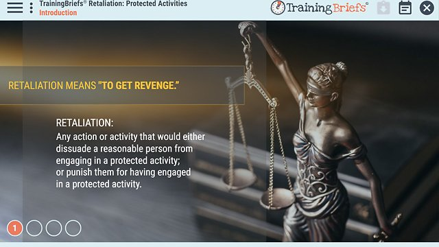 TrainingBriefs® Retaliation: Protected Activities