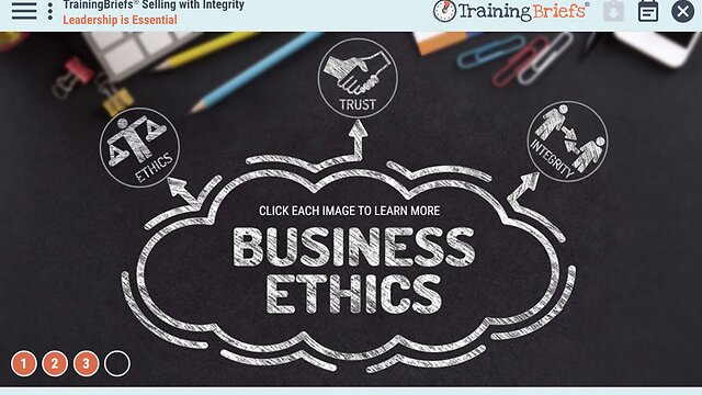 TrainingBriefs™ Selling with Integrity