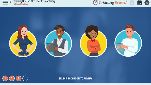 TrainingBriefs® Strive for Extraordinary
