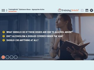 TrainingBriefs® Substance Abuse - Appropriate Action