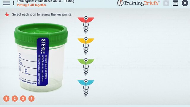 TrainingBriefs® Substance Abuse - Testing