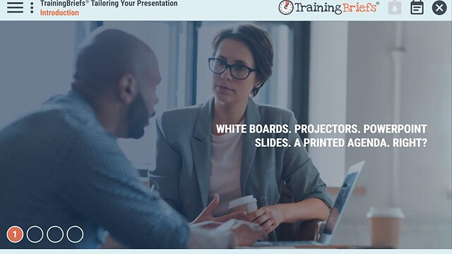 TrainingBriefs® Tailoring Your Presentation